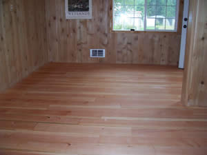 Kiln dried flooring